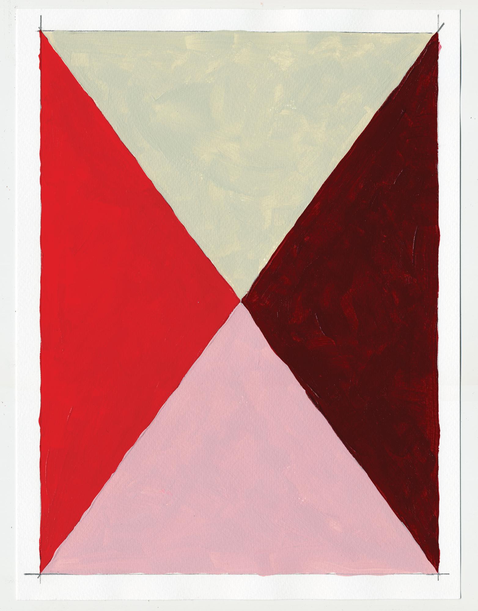 "NY16#71  , 12"" X 9"", acrylic on paper, 2016 SOLD  prints at Artfully"