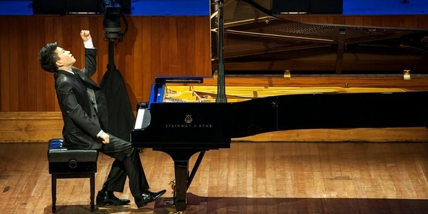 Jason Bae was the winner of the inaugural Wallace Piano Competition last year.