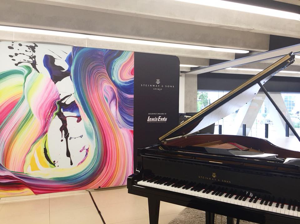 "Steinway & Sons Piano ""Spirio"" - Bentley Showroom, Auckland. (2018)"