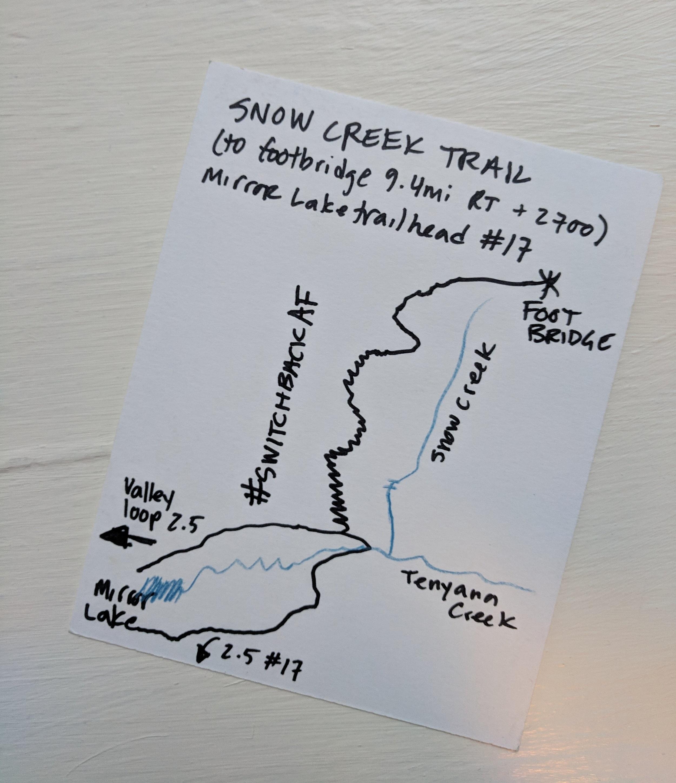 snow-creek-trail-map