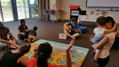 Sing&Grow plays a part in Postnatal Depression Awareness week activities