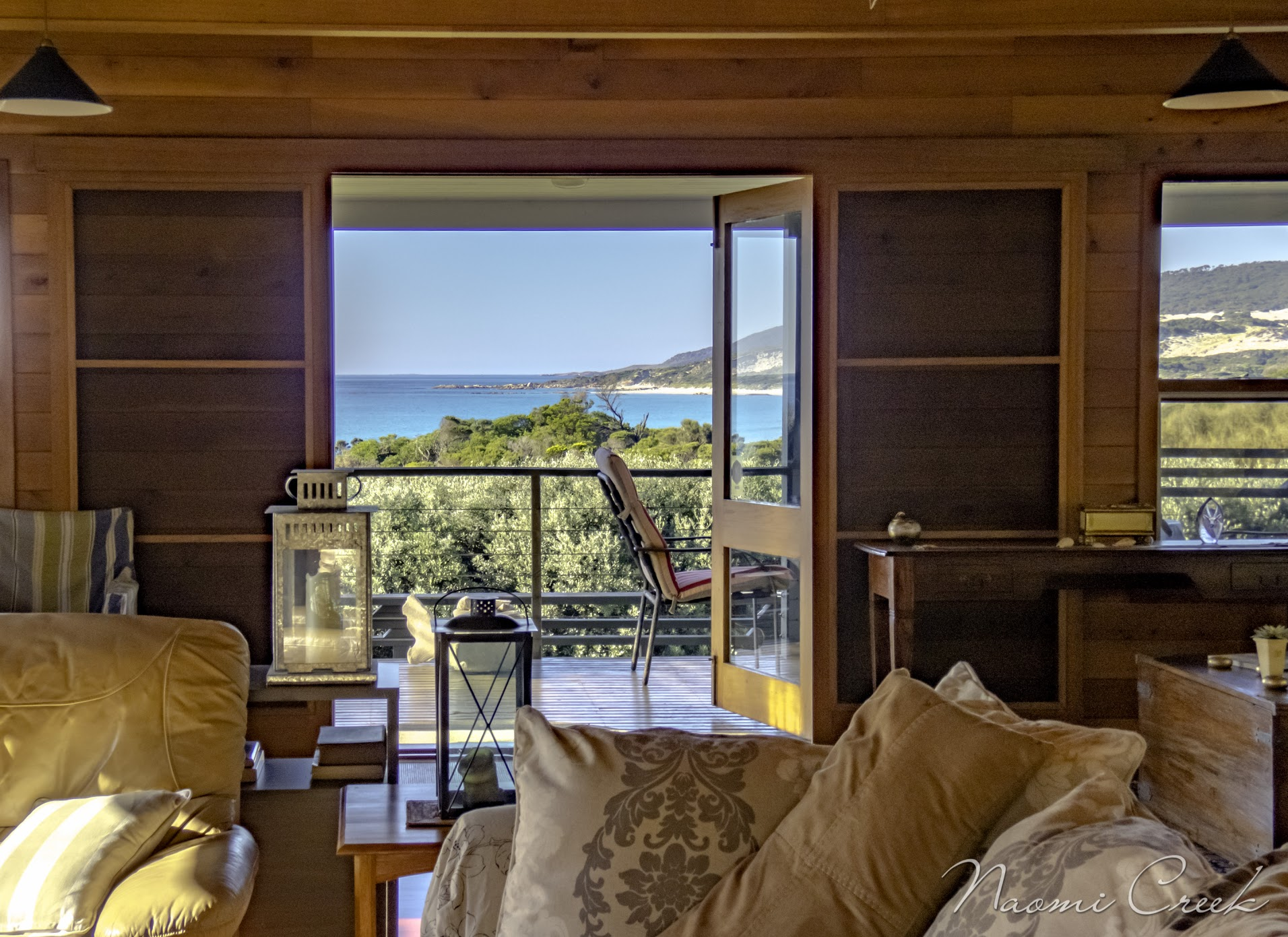 Palana Beach House has uninterrupted sea views