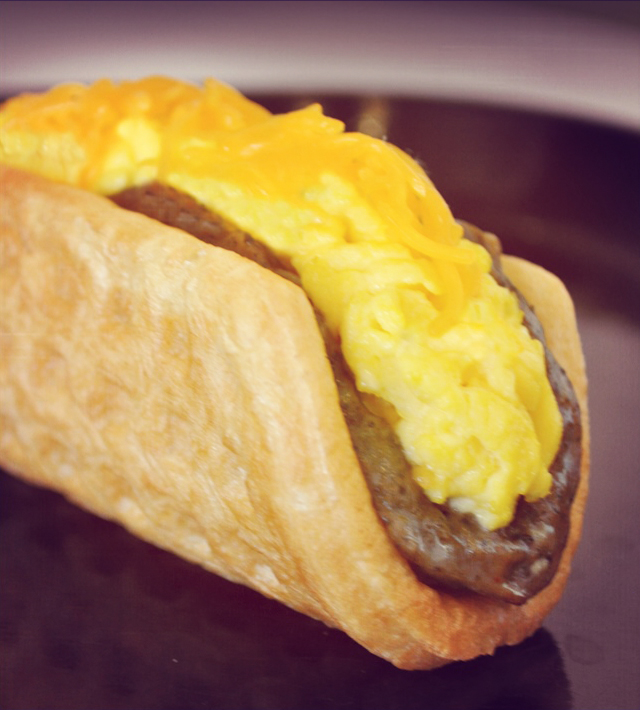 These are Taco Bell's own promotional photos that are out of focus and all Instagrammy.
