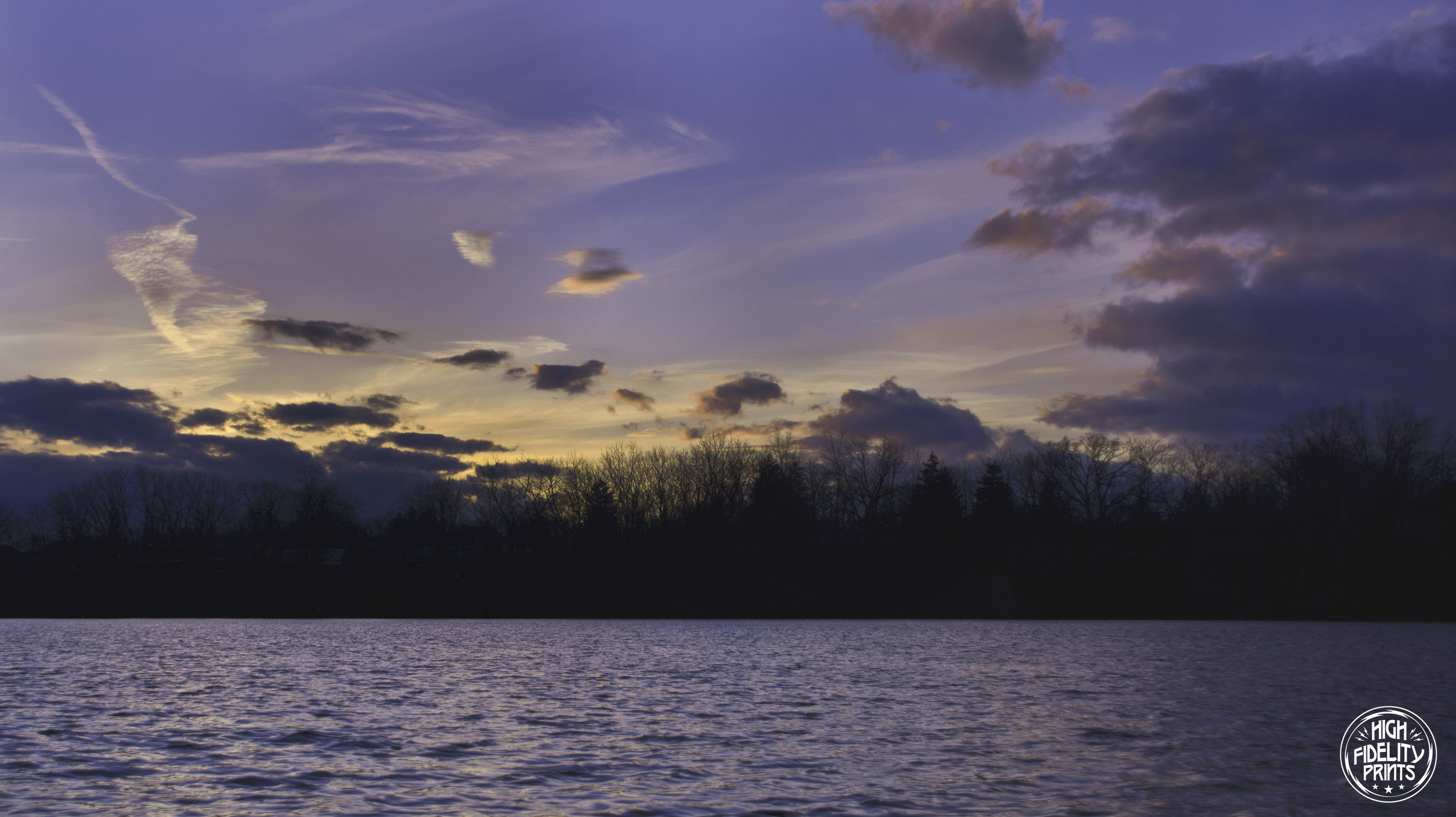 Sunset Sky over Van Cleef Lake