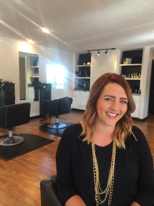 Morgan Stonebraker, Senior Stylist at Redhead Salon Boutique