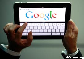 """""""Google said revenue from mobile advertising reached more than $2.5bn on an annualised basis, equivalent to some 7 per cent of its gross revenues in its latest quarter. The disclosure, coming a year after reporting that mobile revenues had topped an annualised $1bn, is evidence that the business is """"going gangbusters"""", said Patrick Pichette, chief financial officer.""""       via  ft.com"""