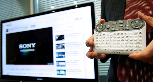 Google TV, Usability Not Included.      article at NY Times