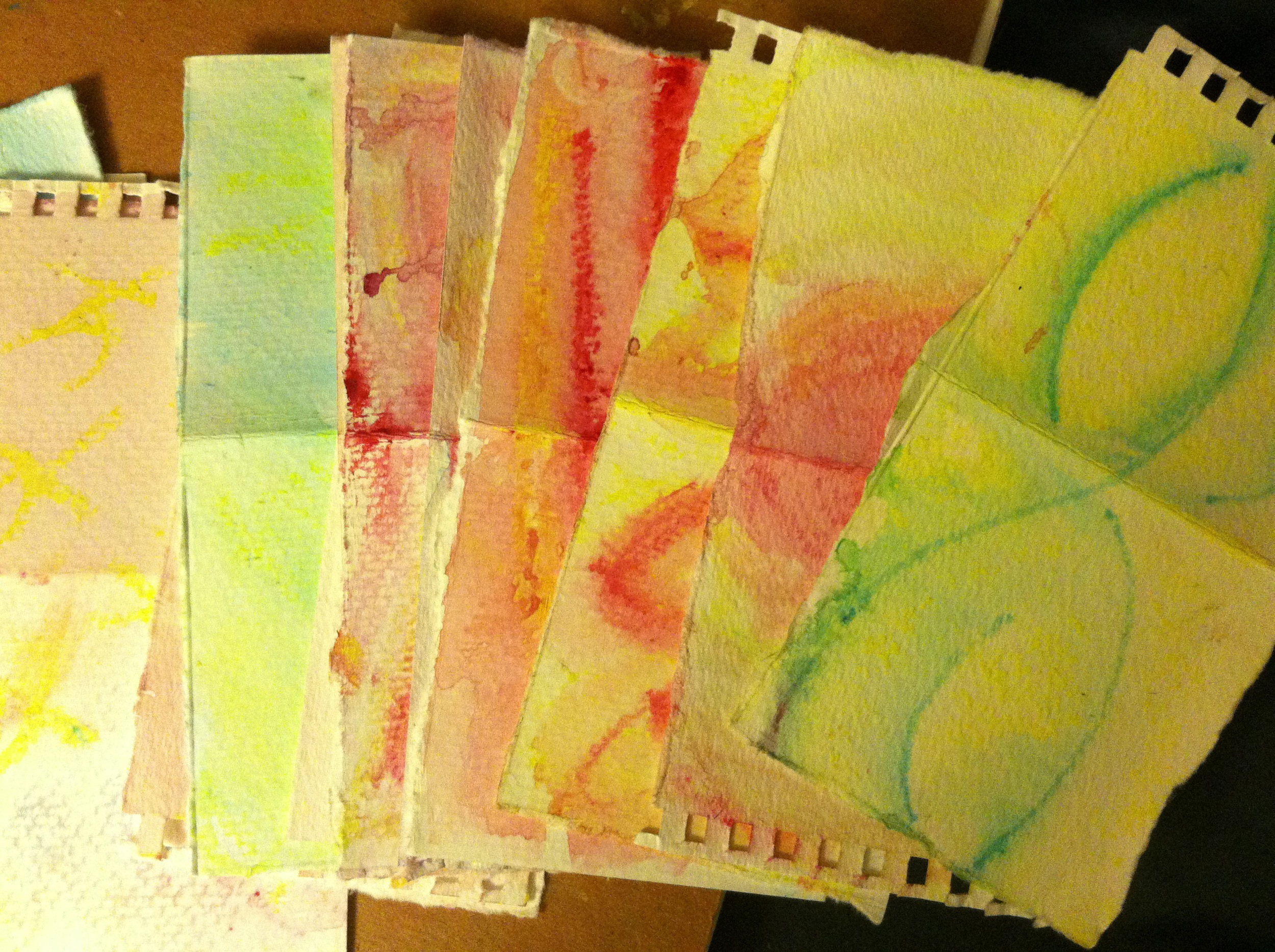 Late night water color.