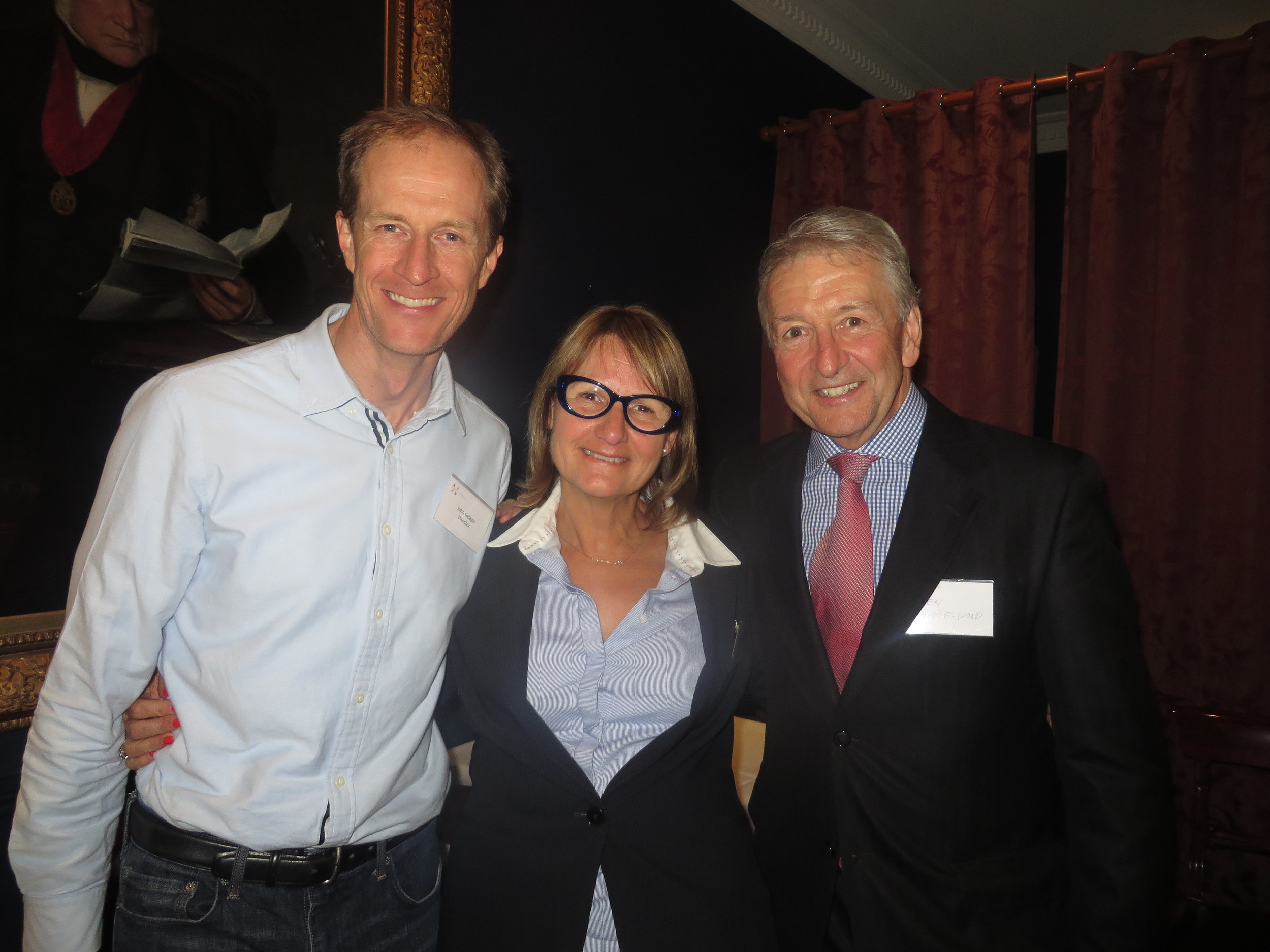 Make a Difference CEO John Gelagin with Directors Nadia Taylor and Ken Cappie-Wood