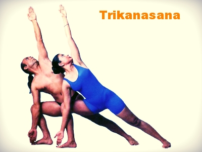 Triangle Pose is the master pose that requires the heart and lungs to work together