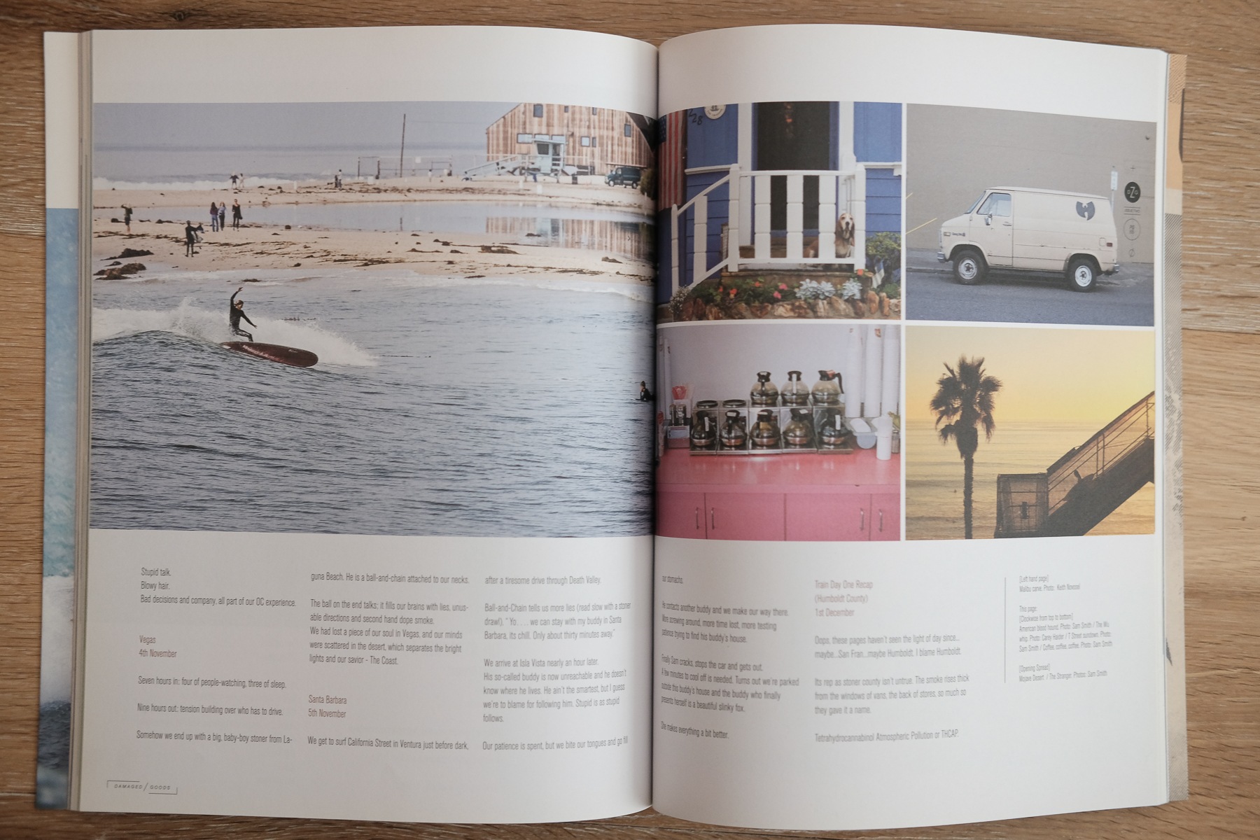 Damaged Goods Magazine (Left)