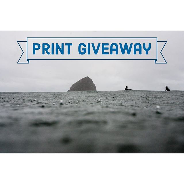 One print for you and one for a friend! The prints are 8x12 and printed on 100% cotton fine art paper. For your chance to win: 1. Make sure you're following this account. 2. Tag a friend who you think would like a print of one of my photos. You can tag as many people as you'd like, but only tag one person per comment. Winners (one winner and the friend they tagged) will be chosen at random on August 21st, 2019. Click the link in my bio to see available prints. . . . #printgiveaway  #surfphotography #naturephotography #coldwaterculture  #heedthecall #seeyououtthere