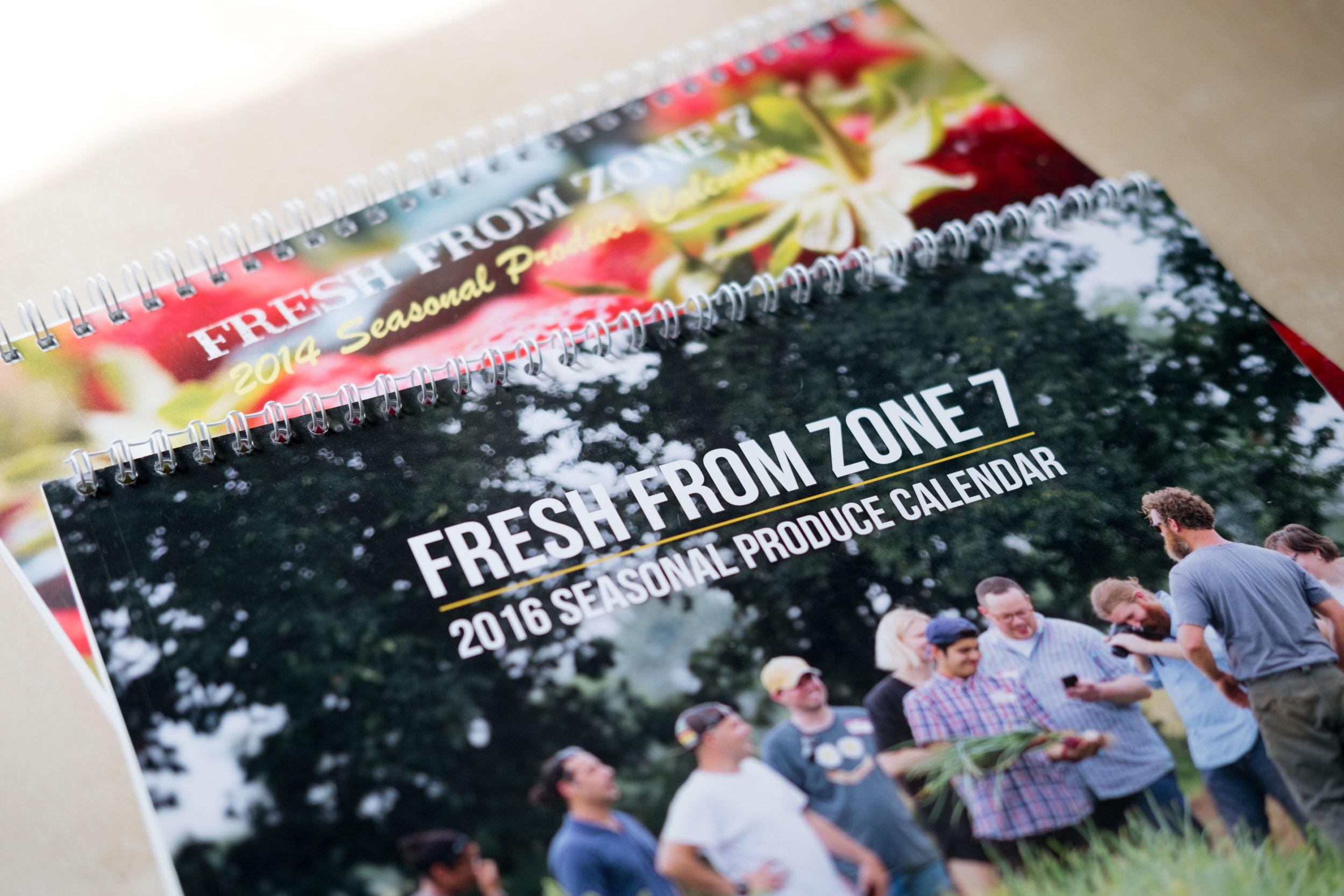 Zone 7 Seasonal Produce Calendars