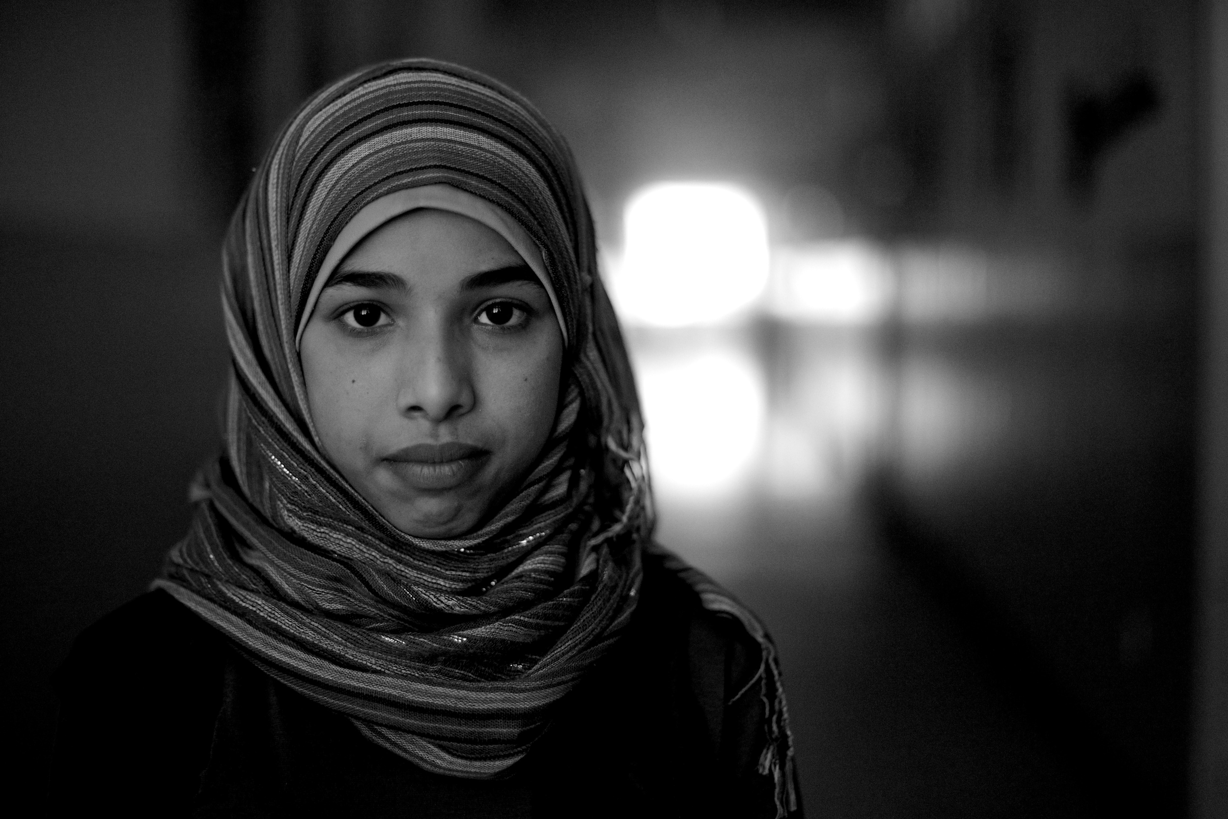 My name is Noor. I'm 14-years-old. I want to be a surgeon because I think it would be useful to my country and it seems important now to do something useful. We came to Jordan in February, 2013.