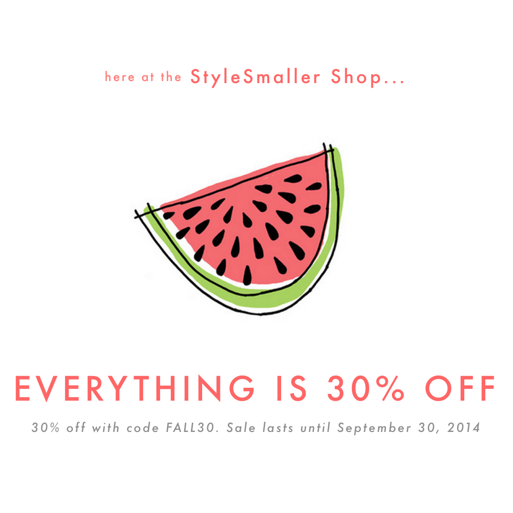 StyleSmaller Sale
