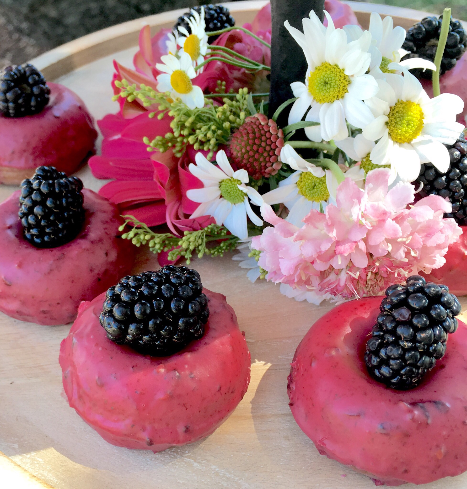 The prettiest donuts I've ever seen. ;) From  Miss Jones Baking Co.