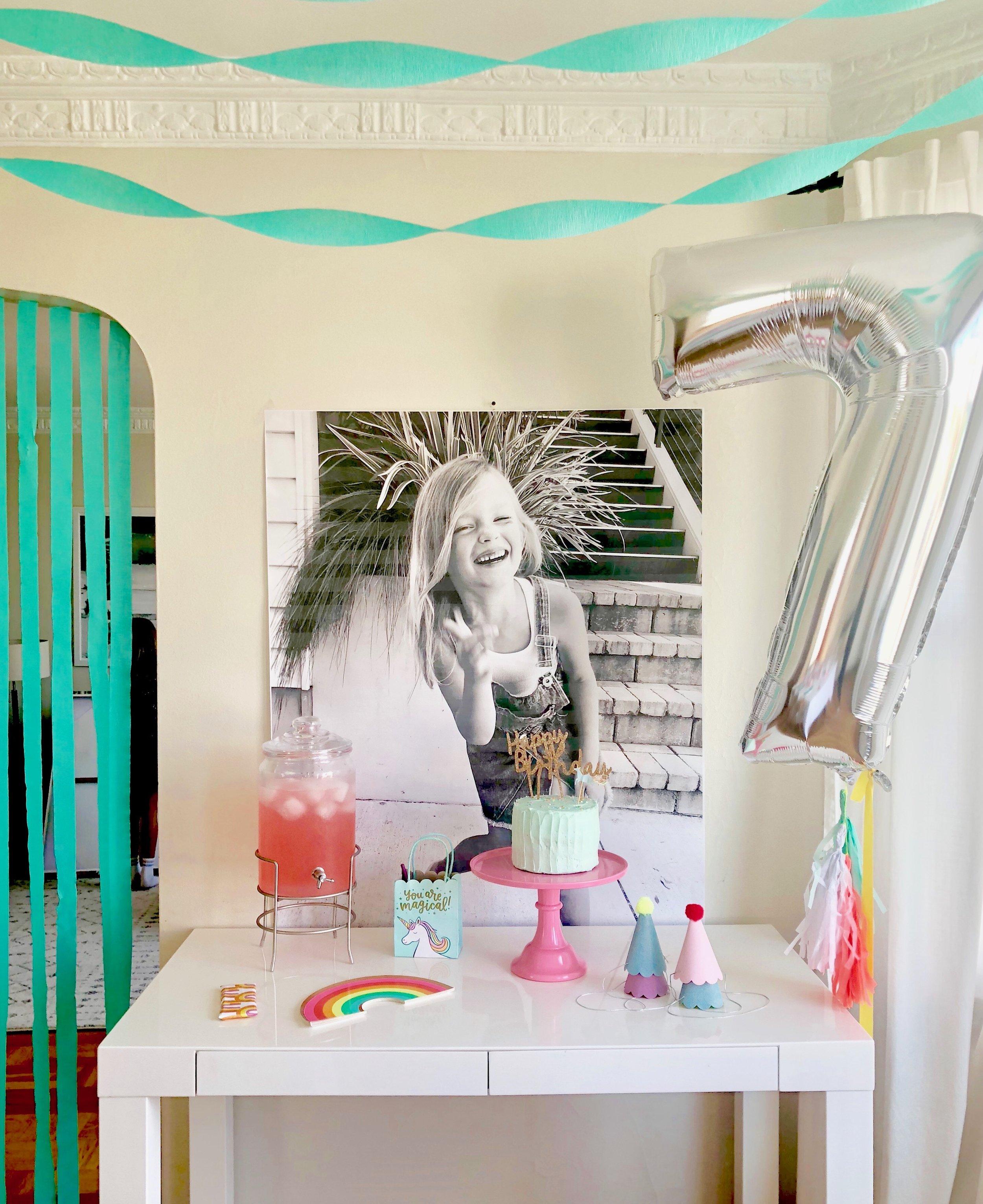 StyleSmaller // #birthdayparty #girlsbirthday