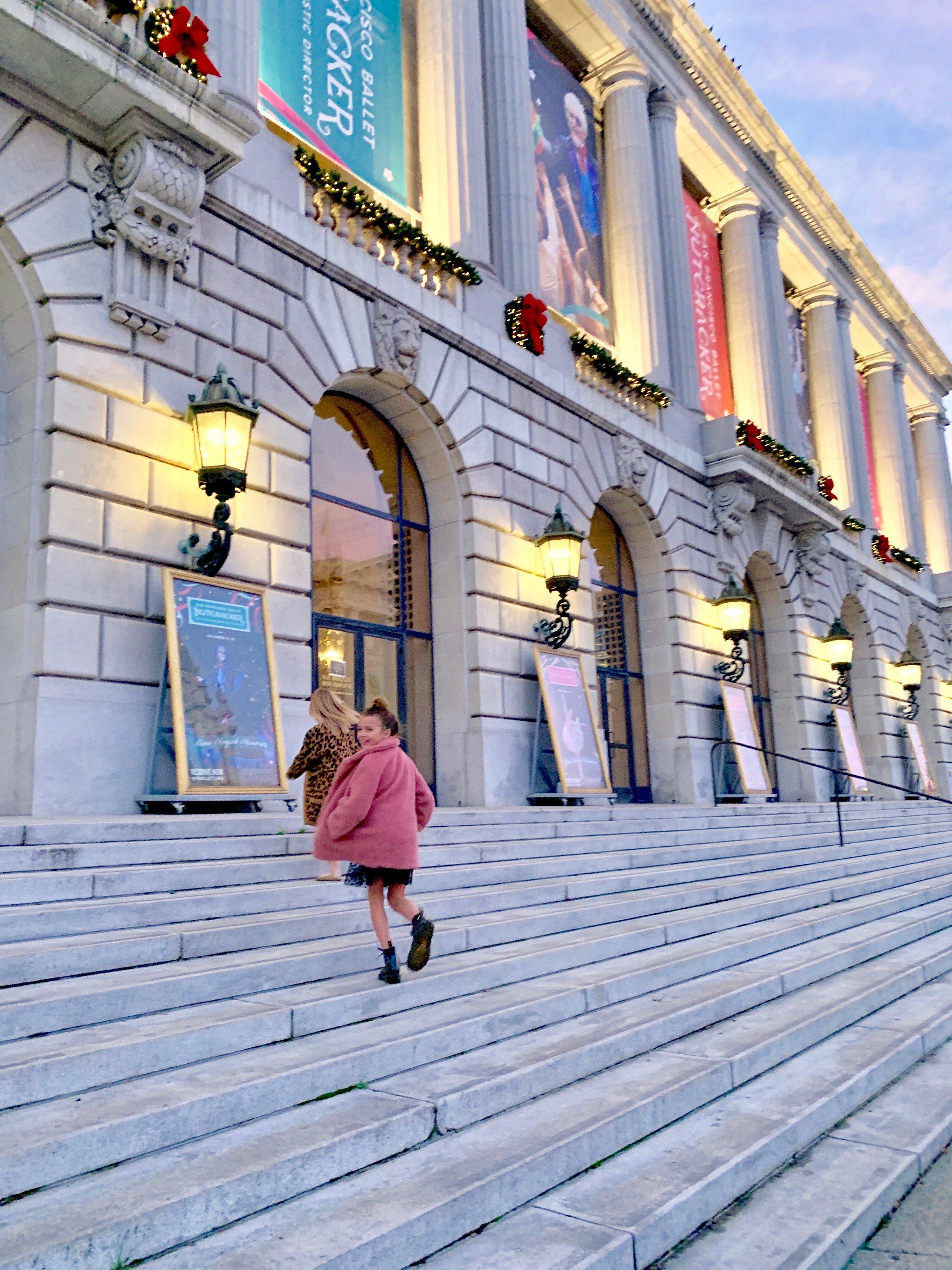 SF Ballet #stylesmaller #ballet #sfballet #sanfrancisco