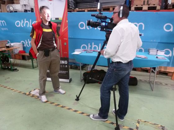 Interview TV pour Eco Cyclo