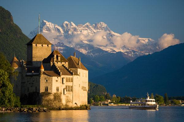 Romantique Château de Chillon