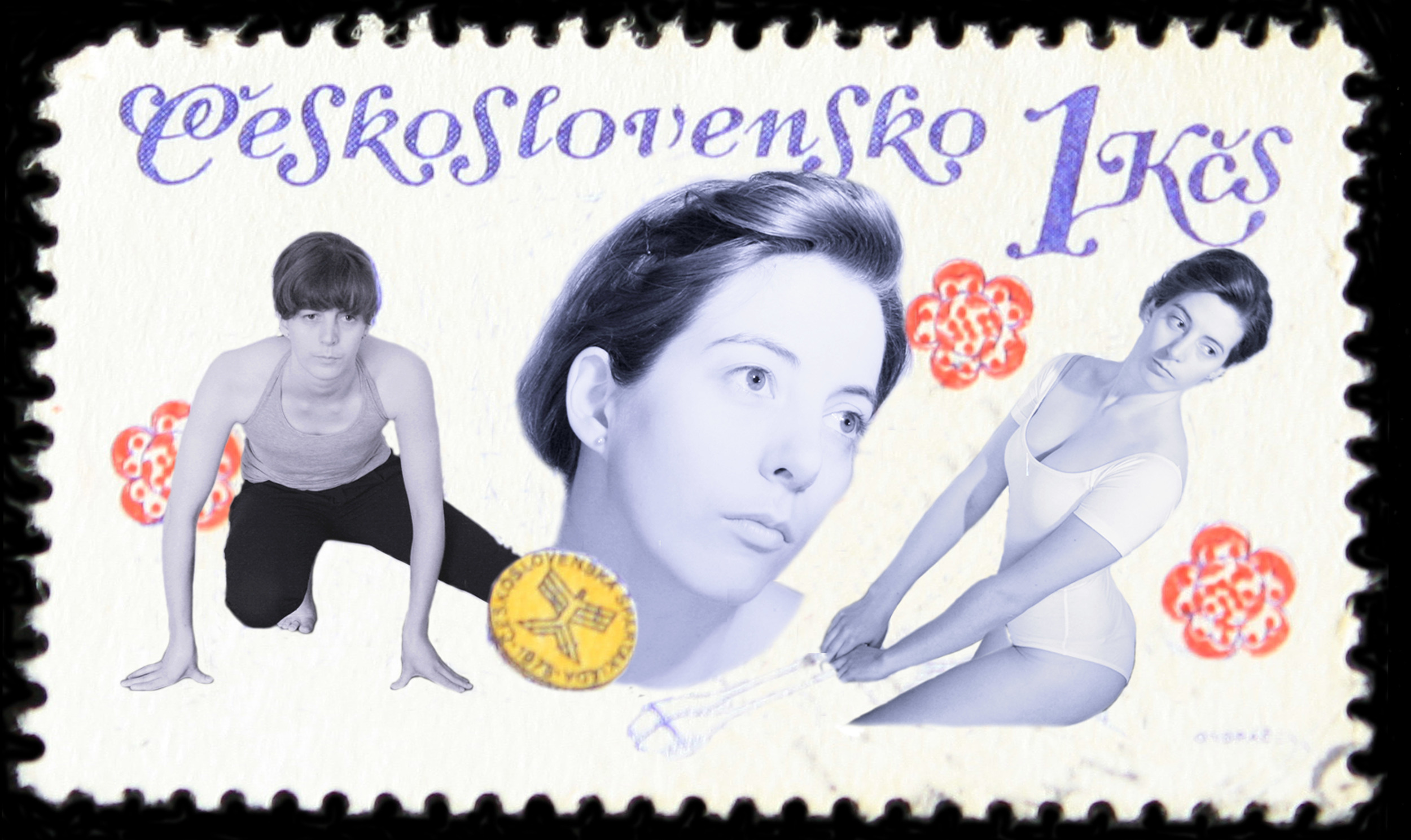 Stamp Collection (Olympics - Gymnastics)