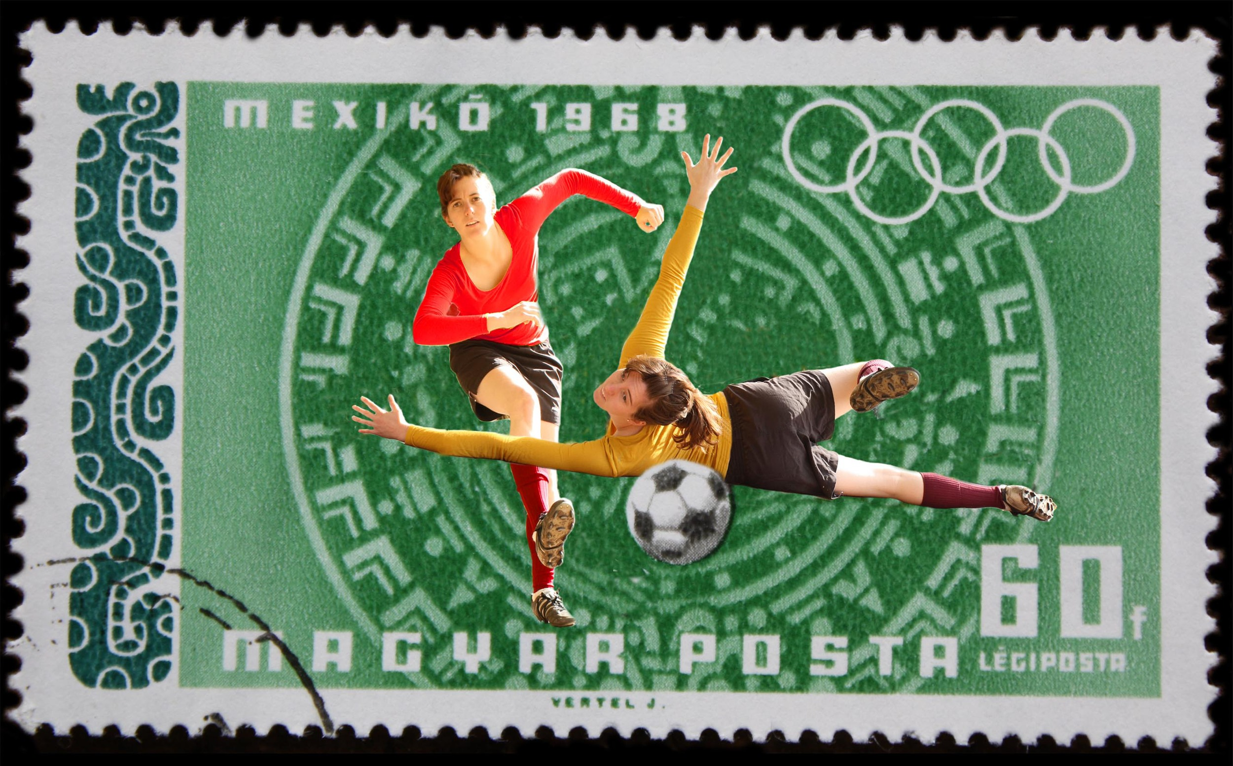 Stamp Collection (Olympics - Soccer)
