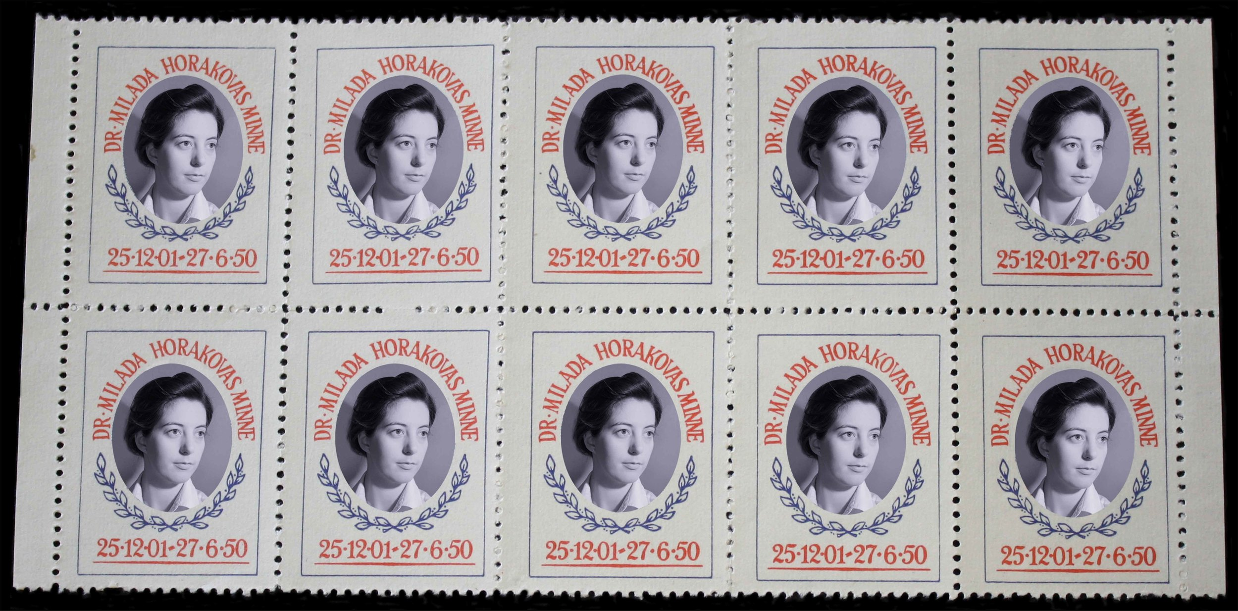 Stamp Collection (Dr. Milada Horakovas Minne)