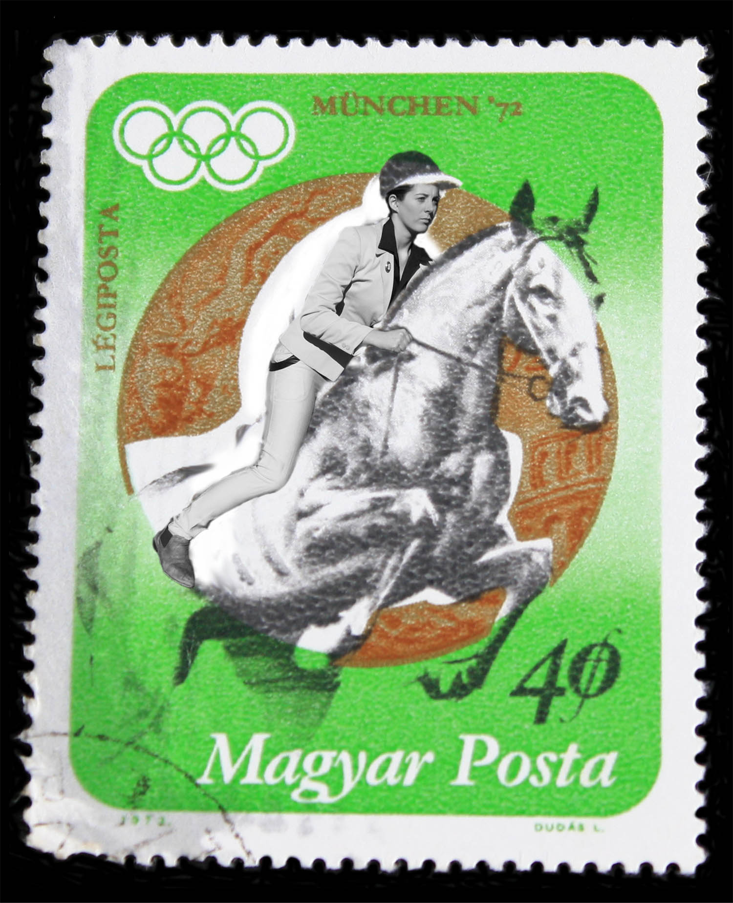 Stamp Collection (Olympics - Equestrian)