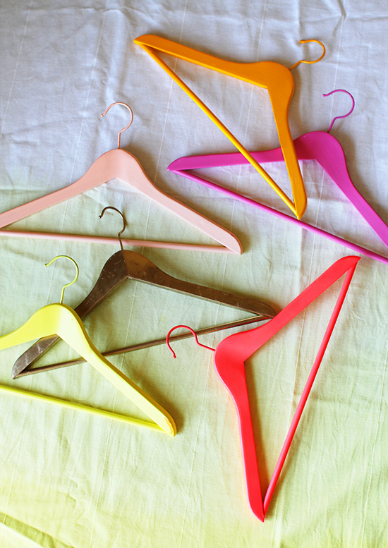 Painted Hangers