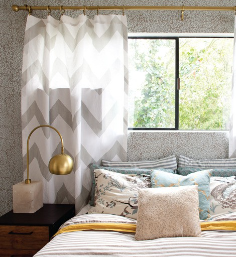 Chevron Drapes