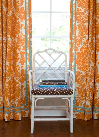 Trim Pattern Drapes