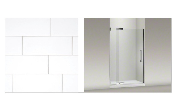 White_Tile_Kohler_Shower_Door