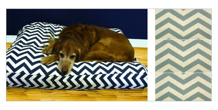 Dog bed from  Maison Boutique  on Etsy