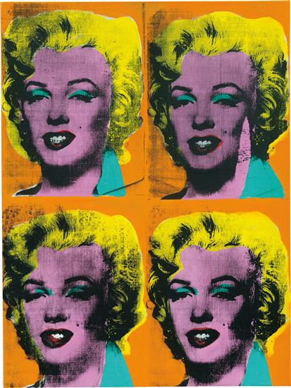 Four Marilyns,  Andy Warhol