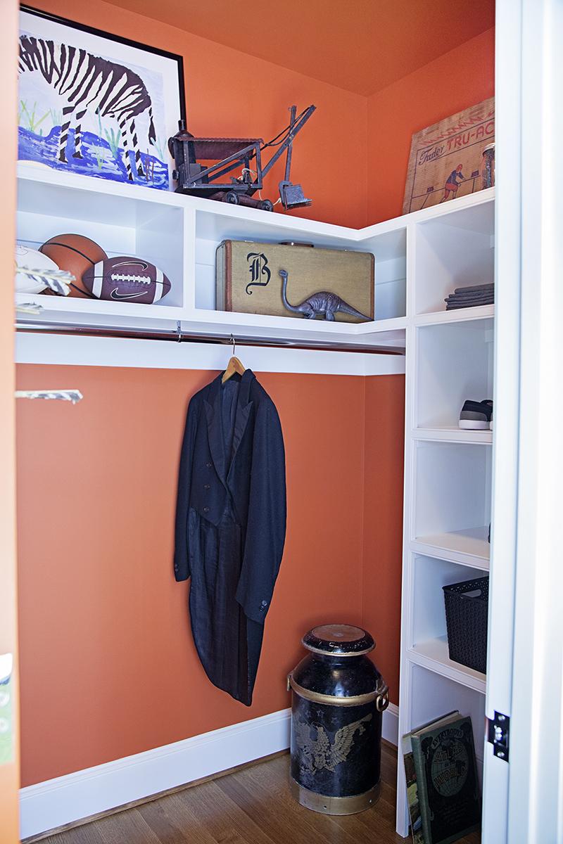 Closet by Regan Billingsley Interiors