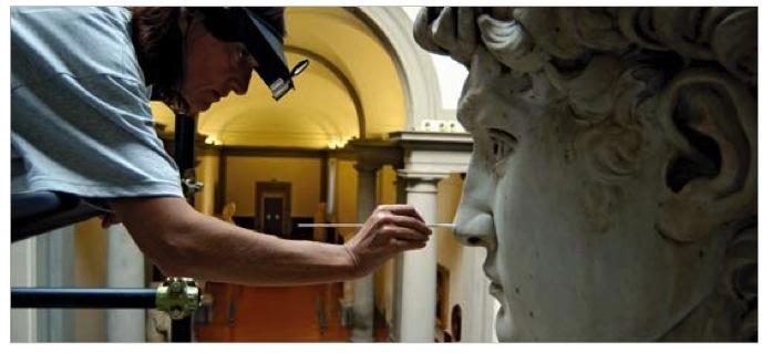 Restoration of Michelangelo's David, Marco Bucco,   AFP/Getty Images