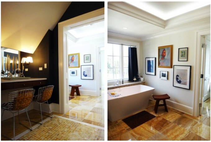 Master Bathroom at the DC Design House by Darlene Molnar