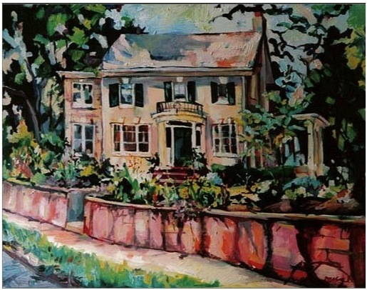 House Portrait, Nicole Bourgea