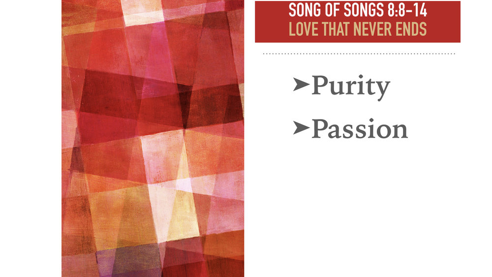 Kevin speaks from Song of Songs