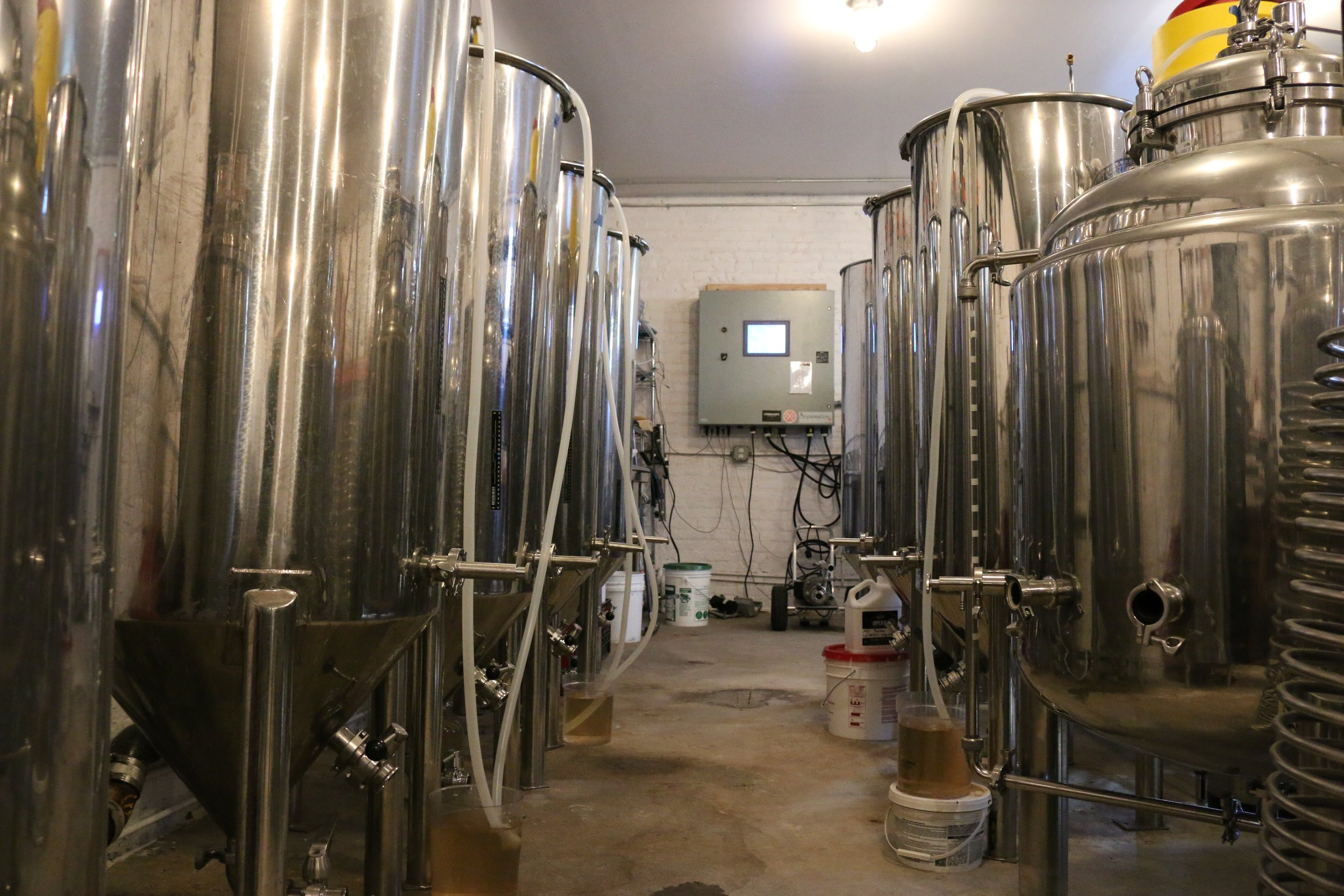Join us Saturdays at 2pm for a tour of the brewery. Tour includes a tasting of your choice. $5