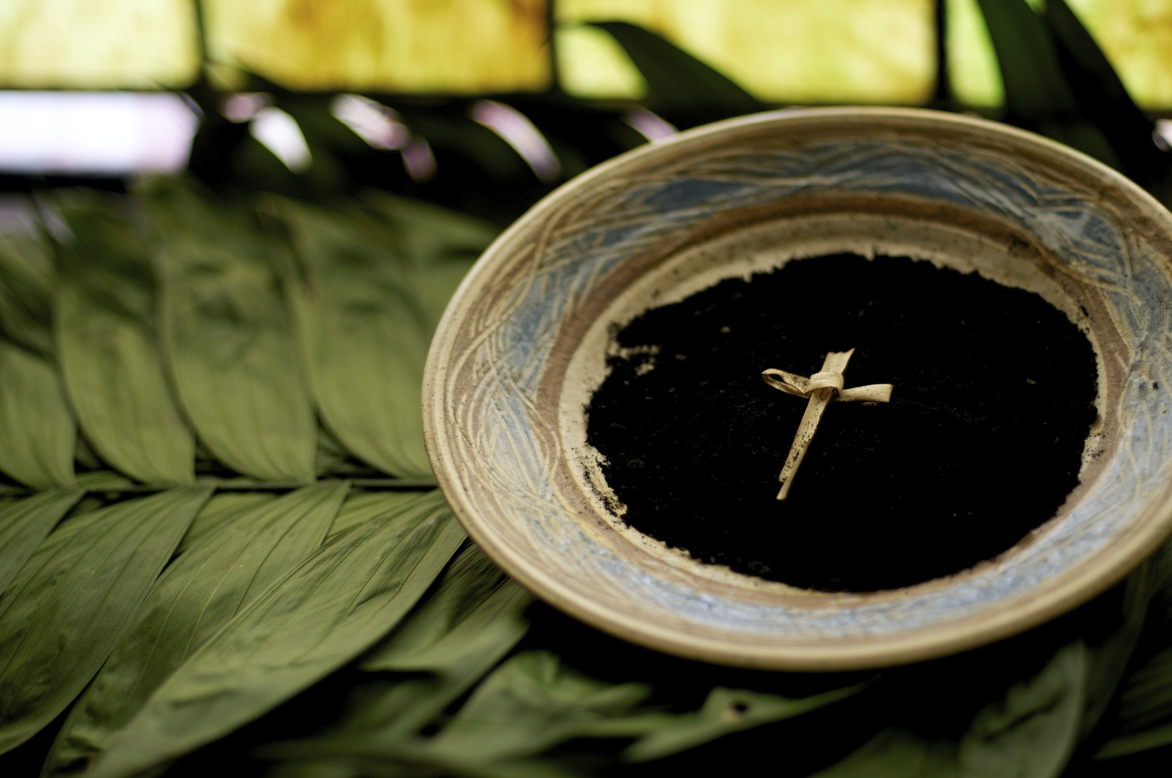 Ash Wednesday Service - Today at noon and 7pm