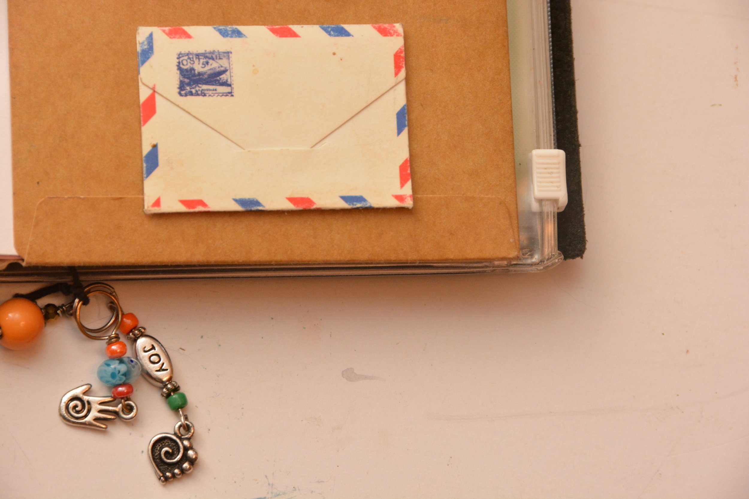 This tiny envelope contains a special date that is near and dear to my heart.