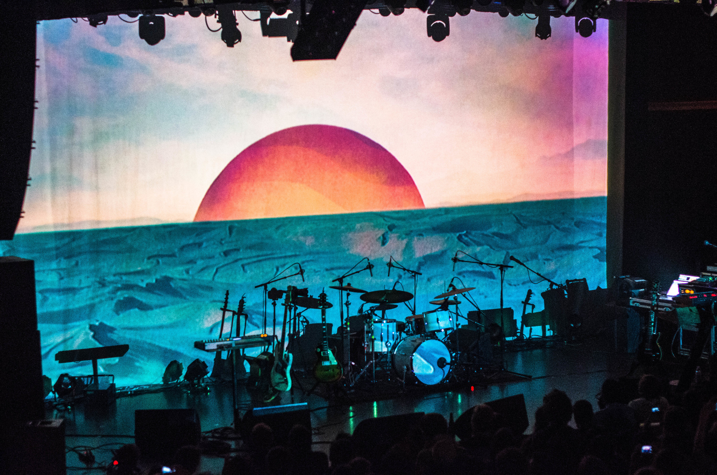 TYCHO put on one of the most unique shows.