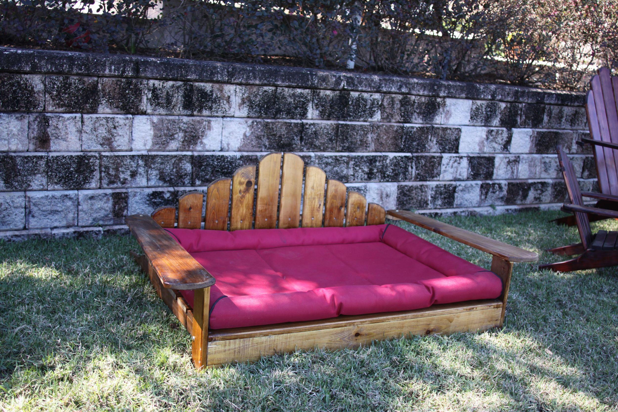 Adirondack Dog Bed