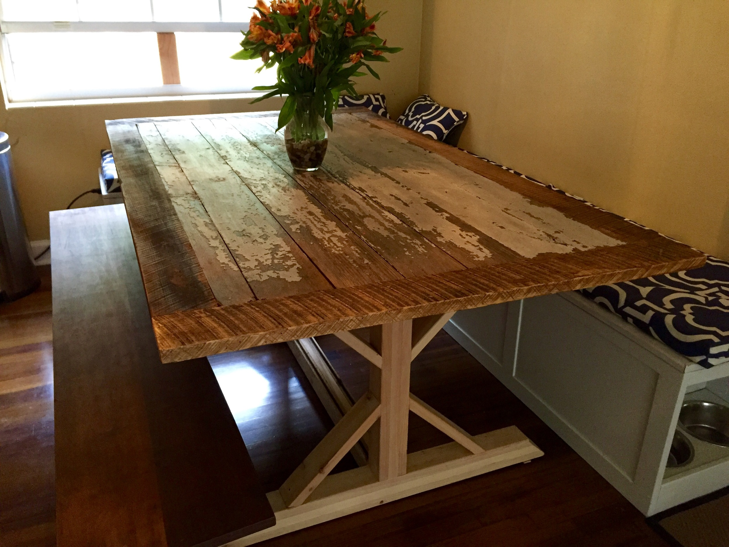 Custom Built Dining Room Table - Family Heirloom