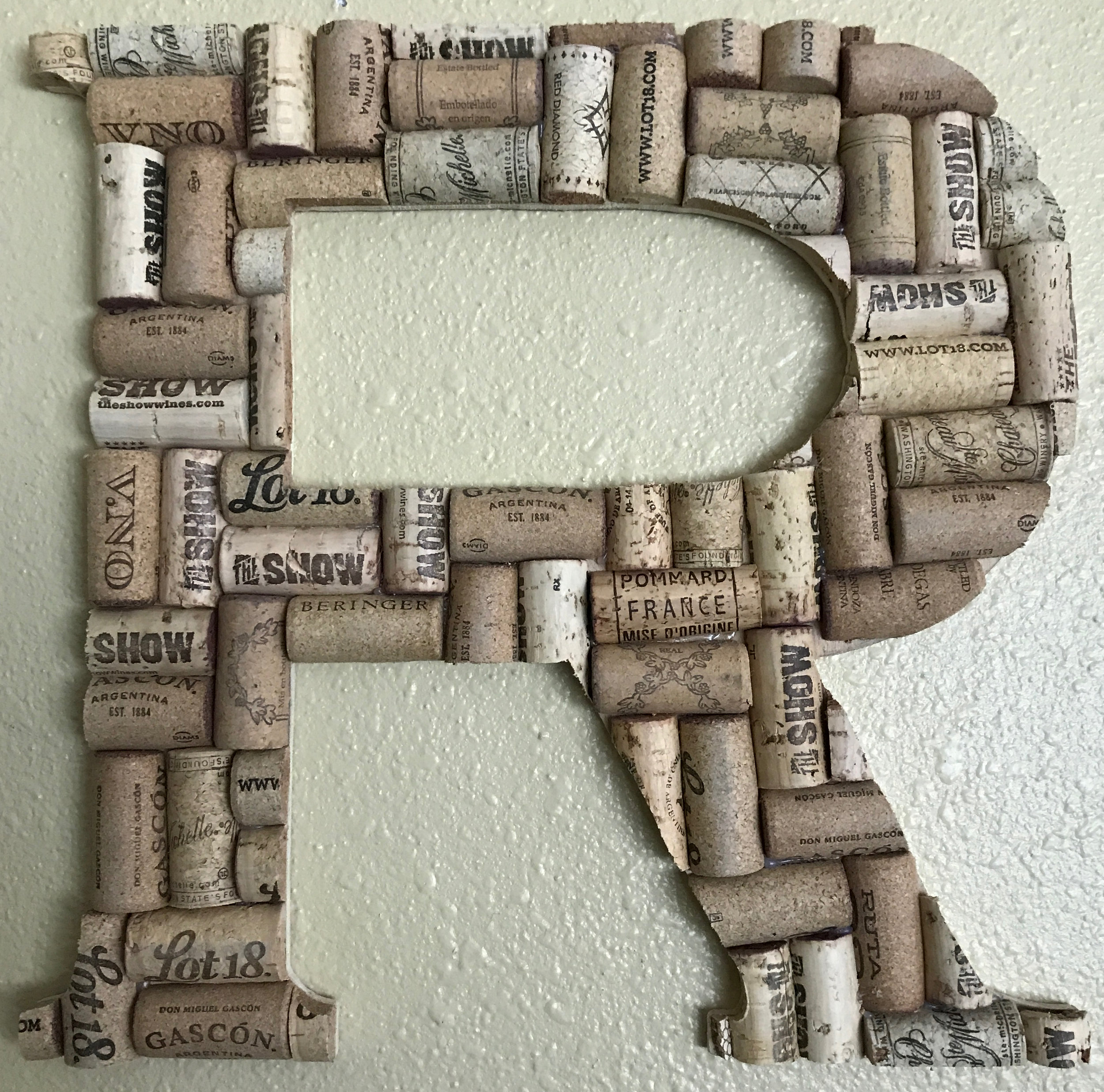 Cork Letter R