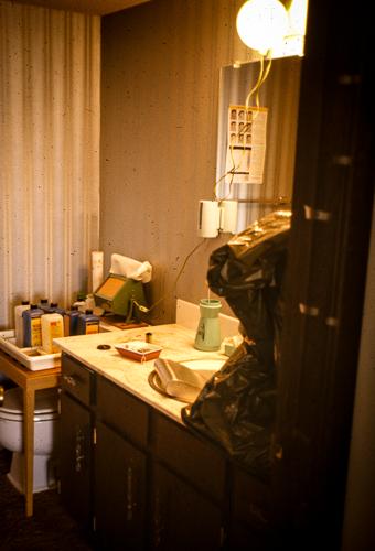 Bathroom Conversion to Darkroom