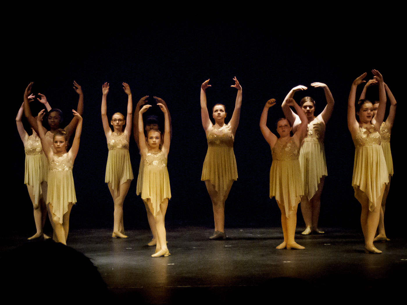 The Dance - in very poor light...