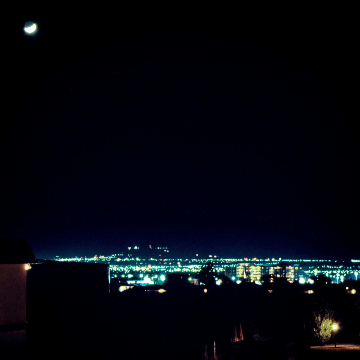 Lunar eclipse? Maybe.