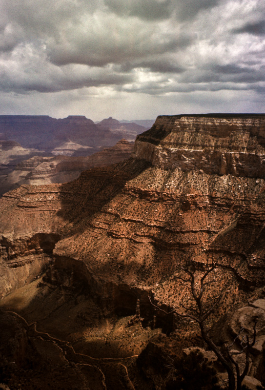 Grand Canyon - 1975. Image restored from an old transparency.